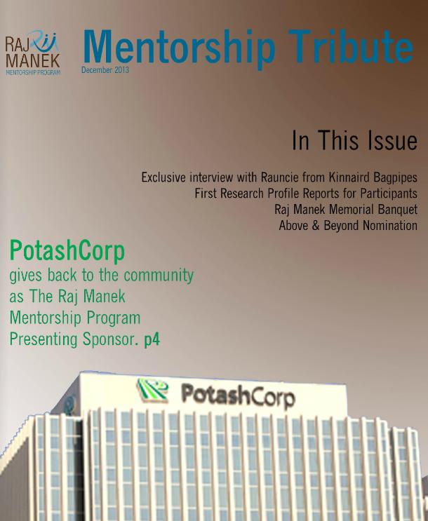 Mentorship Tribute December 3013