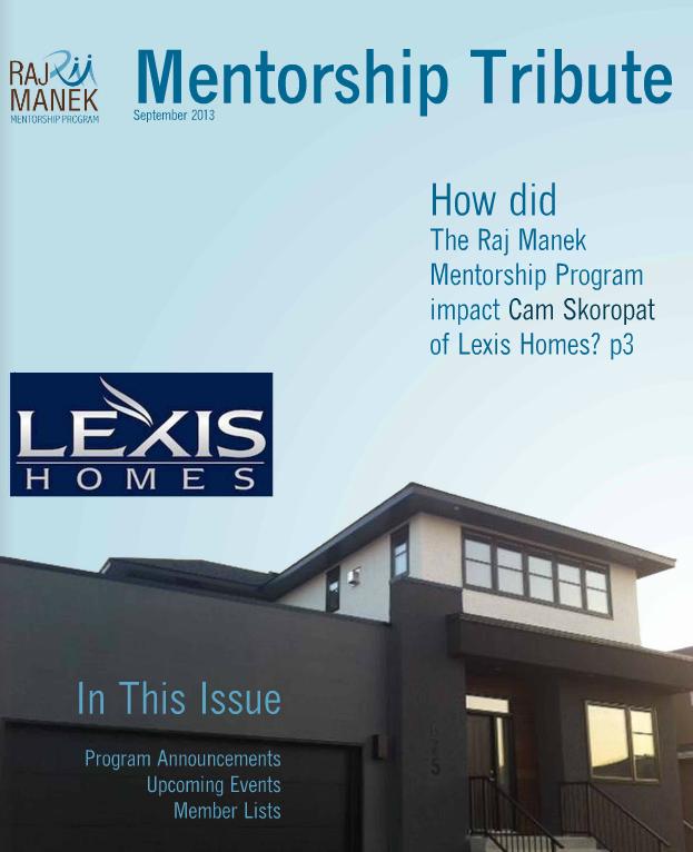 Mentorship Tribute 2013